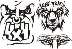 Composições 8. Off-Road. ilustração royalty free