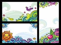 Composições florais 2 Fotografia de Stock Royalty Free