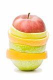 Composicón of fruits Royalty Free Stock Image