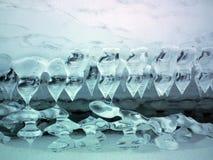 Composición 2 del hielo Fotos de archivo libres de regalías