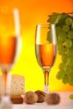 Composición 3 del vino Fotografía de archivo