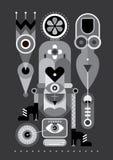 Composición abstracta libre illustration