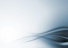 Composición abstracta azul Fotografía de archivo libre de regalías