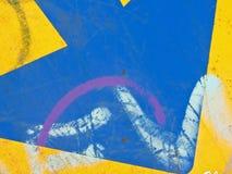 Composición abstracta con colores Fotografía de archivo