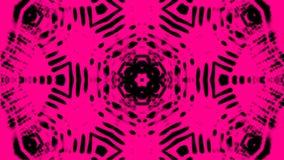 Composición abstracta de líneas desiguales 3d rinden stock de ilustración