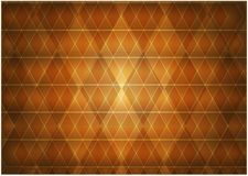 Composición abstracta de la naranja brillante de los Rhombus libre illustration