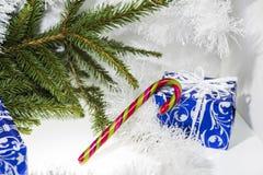 Composición abstracta de la Navidad Abstracción del invierno Fotos de archivo