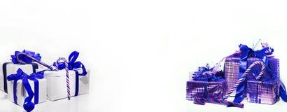 Composición abstracta de la Navidad Abstracción del invierno Fotografía de archivo