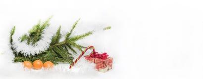 Composición abstracta de la Navidad Abstracción del invierno Fotos de archivo libres de regalías
