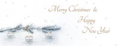 Composición abstracta de la Navidad Abstracción del invierno Imágenes de archivo libres de regalías