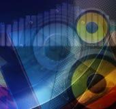 Composición abstracta de la tecnología stock de ilustración
