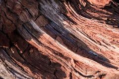 Composición abstracta de madera Foto de archivo libre de regalías