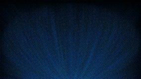 Composición abstracta de semitono azul ilustración del vector