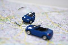 Composición abstracta de usar los espejos de coche fotografía de archivo libre de regalías