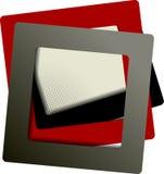 Composición abstracta del marco del fondo Imagen de archivo libre de regalías