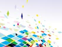 Composición abstracta del mosaico Imágenes de archivo libres de regalías