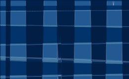 Composición abstracta en los colores blancos, azules y azul marino Fotos de archivo libres de regalías