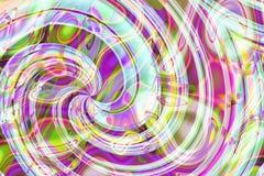 Composición abstracta, espiral Foto de archivo libre de regalías