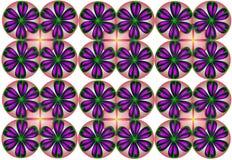 Composición abstracta N31 del color Foto de archivo