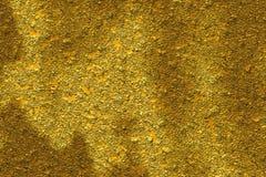 Composición abstracta, oro Foto de archivo libre de regalías