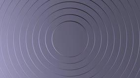 Composición animada abstracta del acero del ordenador libre illustration
