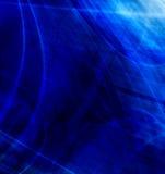 Composición azul abstracta Imagen de archivo libre de regalías