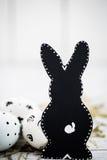 composición blanco y negro de Pascua Fotografía de archivo libre de regalías