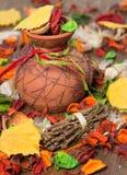 Composición brillante del otoño Imagen de archivo libre de regalías