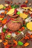 Composición brillante del otoño Imagenes de archivo
