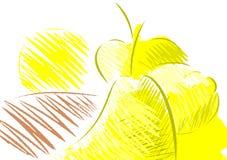 Composición colorida de las frutas Fotografía de archivo libre de regalías