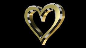 Composición con el corazón giratorio libre illustration