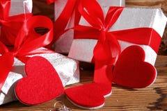 Composición con el corazón para todos los amantes Fotografía de archivo