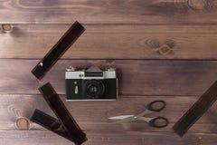 Composición con la cámara imagen de archivo