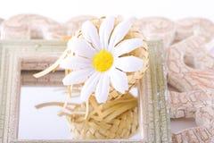 Composición con las flores. Foto de archivo