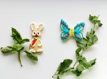 Composición con las galletas Fotografía de archivo libre de regalías