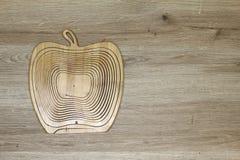 Composición con una manzana Imágenes de archivo libres de regalías