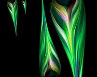Composición de Absract - carámbanos coloridos Foto de archivo libre de regalías