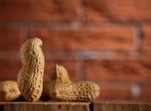 Composición de cacahuetes Imagenes de archivo