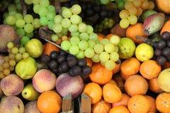 Composición de frutas frescas Fotos de archivo