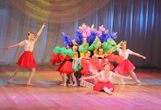 Composición de la danza Imagen de archivo libre de regalías
