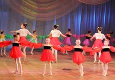 Composición de la danza Fotografía de archivo libre de regalías
