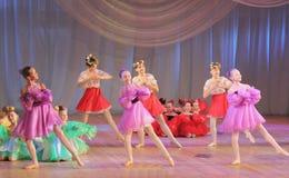 Composición de la danza Fotos de archivo