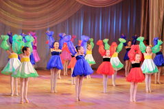 Composición de la danza Fotos de archivo libres de regalías