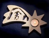 Composición de la estrella de Bethlehem fotos de archivo