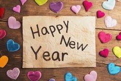 Composición de la Feliz Año Nuevo Foto de archivo