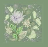 Composición de la flor ilustración del vector