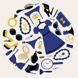 Composición de la moda Imágenes de archivo libres de regalías