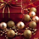 Composición de la Navidad Imagenes de archivo