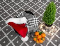 Composición de la Navidad Foto de archivo libre de regalías