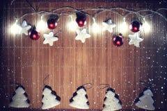Composición de la Navidad Fotos de archivo libres de regalías